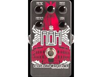Catalinbread RAH Overdrive (Immaculate Condition) Free UK Shipping, boutique guitar pedal