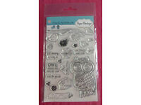 Paper Boutique A Hint Of A Hoot Stamp Set