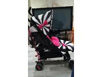 Cosatto stroller, comes with raincover, cup holder, very good condition
