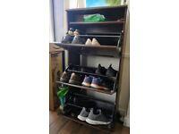 Ikea shoe rack/stprage cabinate- multi tire(3 cabinate)-brow