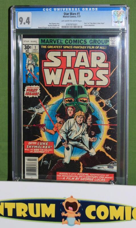 Star Wars #1 CGC 9.4 - the original Marvel (1977) epic series