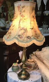 Table lamp Upcycled Parisian style