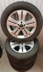 (H95) Pneus Hiver - Winter Tires 255-55-19 Nokian 10/32