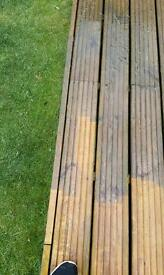 Garden Decking and patio cleaning