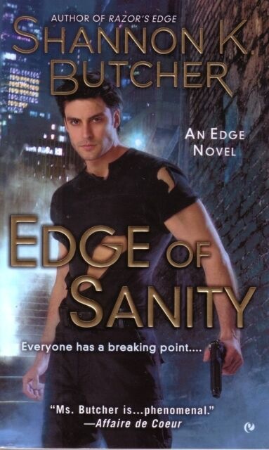 Shannon K. Butcher  Edge Of Sanity  Romantic Suspense   Pbk NEW