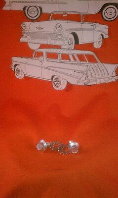 1955 56 57 Chevy Trunk Lid Catch To Body Screws Belair Sedan Hardtop Convertible