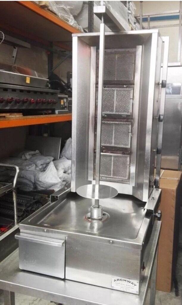 ARCHWAY KEBAB MACHINE , 4 BURNER SHAWARMA MACHINE , DONER MACHINE