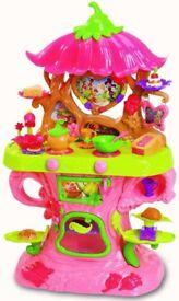 Disney Fairies Tinker Bell Talking Cafe Kitchen Play Set