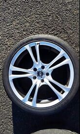 """Ace 205 18"""" alloys + tyres"""