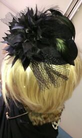Brand new ladies medium size fascinator for any special occasion.
