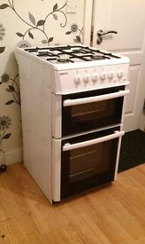 Gas cooker, excellent condition, fully working, 50cm wide