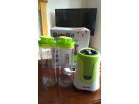 Breville VBL062 Blend Active Personal Blender, 300 W, 50Hz - White/Green + spare bottle