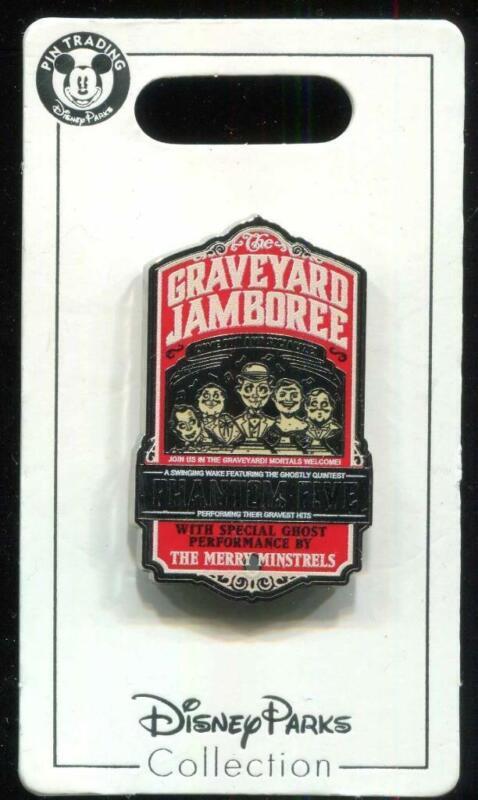 DLR Haunted Mansion 50th Graveyard Jamboree Disney Pin 137050