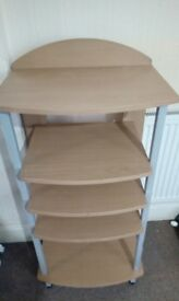 Adjustable Shelf Stand with 5 Shelves £3.50