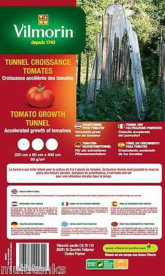 Tunnel of Growth for Tomatoes- Pe - 60 G/M ² Vegetable Garden Culture Eau