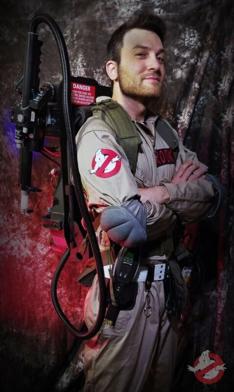 Ghostbusters Full Costume Deluxe Holster Set With Gizmo Board