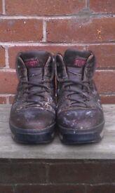 Karrimor KSB Leather boots size 8