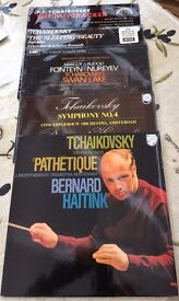 5 x Tchaikovsky Classical LPs