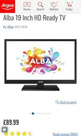 Like new Alba 19 inch HD ready TV