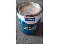 Daytona Paradise -500ml Tin of Flip Paint -*** RARE 1964 Shelby Daytona Colour Code***