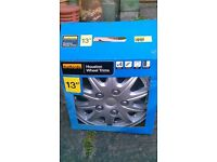 "Halfords Houston 13"" wheel trims"