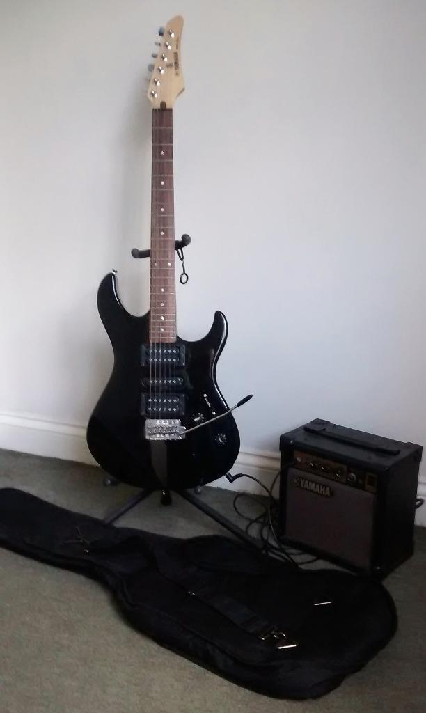 Erg 121c Yamaha Erg 121c Black Electric