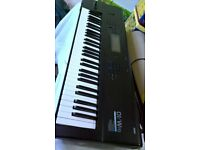 Korg 01w fd Vintage Synth workstation, Serviced Fully Working with Extras, Two PCM Wave Cards Manual