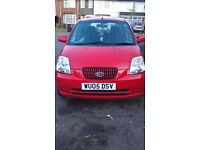 Kia Picanto 1.1l (1086cc) Red Manual Petrol 2 Previous Lady Owners