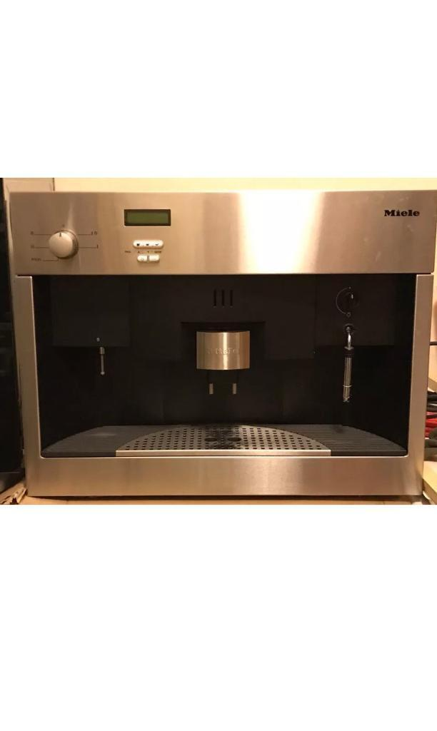 Miele Integrated Coffee Machine In Aberdeen Gumtree