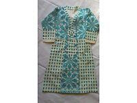 Baby girls's Pakistani Indian cloths dress frock Pajama size 2-7 ---New!!