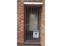 Wrought Iron Gate 800*2000mm (with locker and keys)