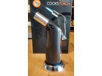 Masterclass Professional Professional Cook's Torch (from Kitchencraft) with 2 ramekins