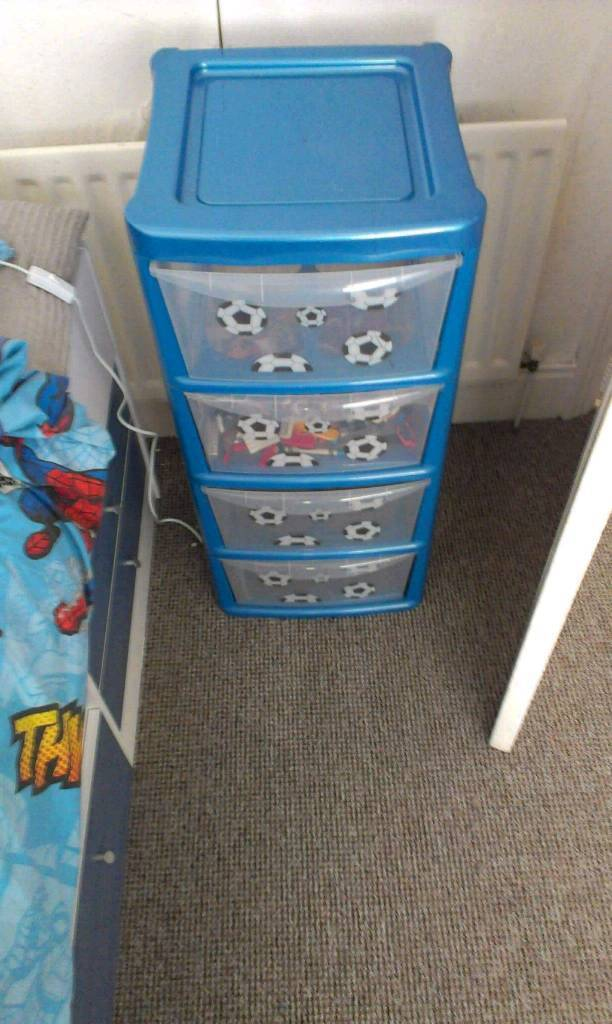 Football plastic storage drawers draws & Football plastic storage drawers draws | in Birtley County Durham ...