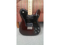 2015 fender classic series '72 telecaster deluxe