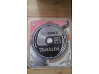 Makita 190mm 40 Tooth 'MAKFORCE' TCT Circular Saw Blade