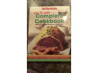 Two cook books - in new condition as never used