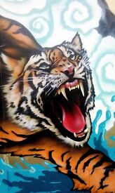 The Paintsmiths: Highly skilled Mural, Graffiti and Street Artists.