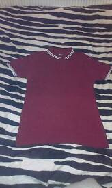 Claret Polo Top (Need Gone)