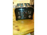 steel toaster & Kettle