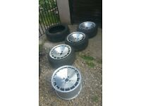 Klutch km16 alloy wheels 4x100 volkswagen vauxhall