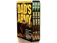 DAD'S ARMY 3 DVD BOX SET - EXCELLENT CONDITION