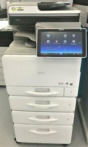 Ricoh MP C307 Color Laser Multifunction Printer MFP Copy Print Scan Fax 31 Pages Per Minute REPOSSESSED VERY LOW COUNT