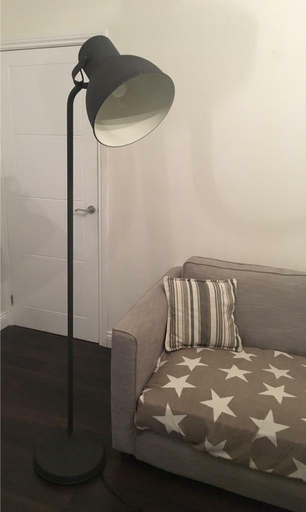 Oversized Floor Lamp ikea hektar dark grey oversized spotlight floor lamp | in chester