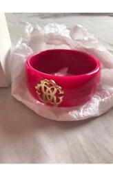 Roberto Cavalli Hot Pink Bangle/Bracelet