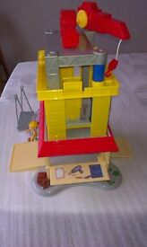 Bob The Builder Deluxe Construction Tower