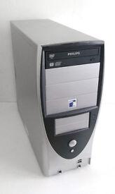 Asus PC (2GB Ram, AMD Athlon 3500+, 2.2GHz, Win 7, Office 2010) Desktop PC, Computer, PC, Cheap