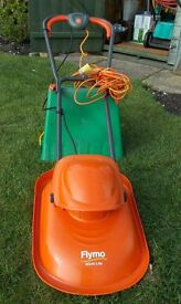 We have a Flymo Micra Light for sale, we cannot use it here as the lawn is too uneven.