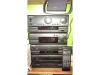 Pioneer separates - excellent quality - can be seen and heard working NG5