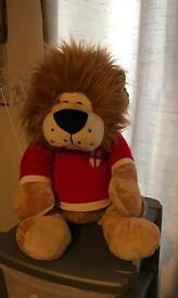 Lion England Football Teddy Bear Large Brand New With Tags