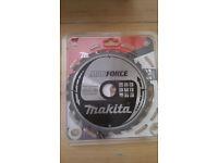 Makita 190mm 24 Tooth 'MAKFORCE' TCT Circular Saw Blade